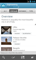 Screenshot of Florence Travel Guide Triposo