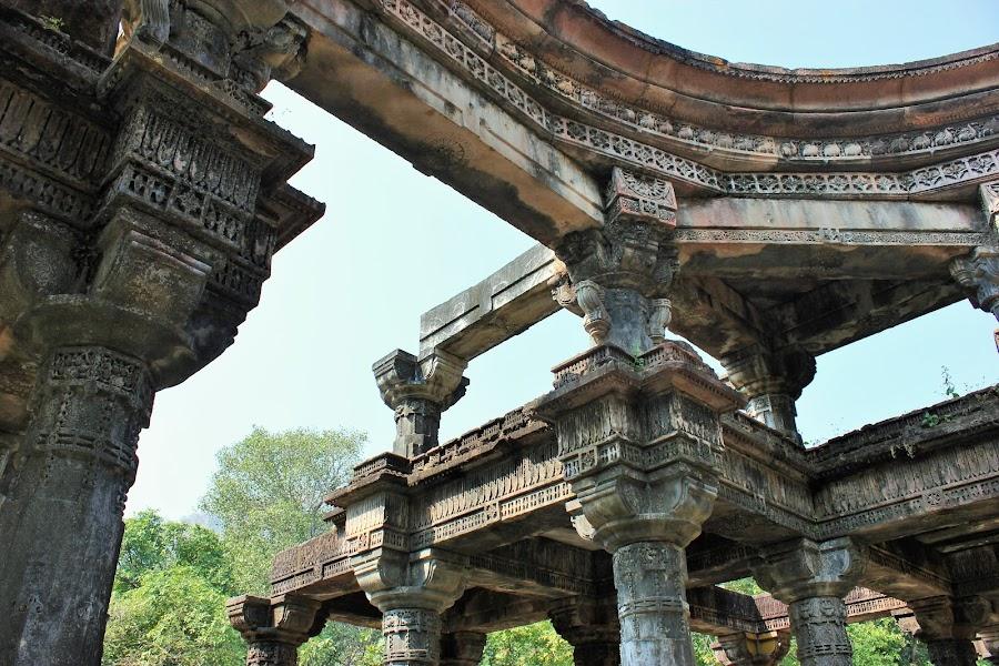 Destroyed Jain Temple @ Polo; Gujarat; India by Thakkar Mj - Buildings & Architecture Public & Historical ( gujarat, abondend, destroyed, india, architecture,  )
