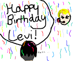 HAPPY BIRTHDAY LEVI