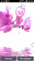 Screenshot of Orchid Bubbles II