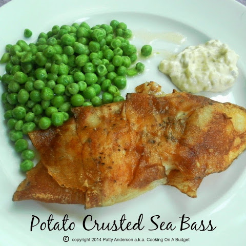 Potato Crusted Sea Bass