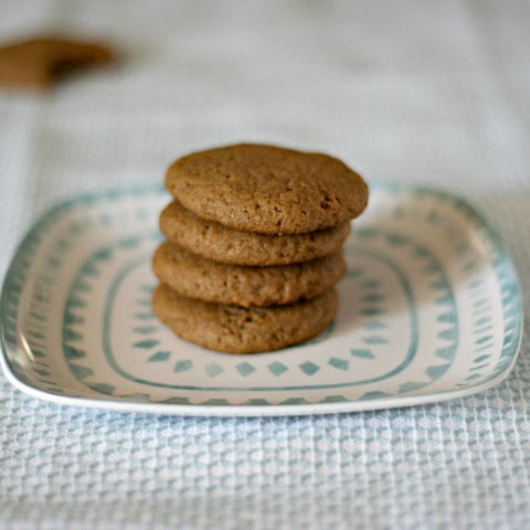 Plant-based Peanut Butter Cookies