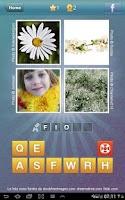 Screenshot of Qual'è la parola? - 4 Immagini