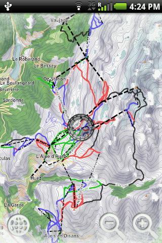【免費旅遊App】Geoskiing: Alpe d'Huez-APP點子