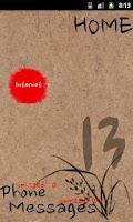 Screenshot of Oriental theme for ssLauncher
