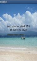 Screenshot of Sea Level