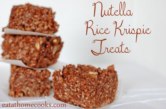 Nutella Krispie Treats Recipes — Dishmaps