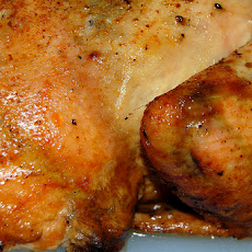 Crock Pot Roasted Chicken With Rosemary and Garlic