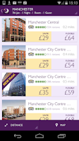 Screenshot of Premier Inn Hotels