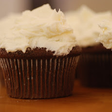 Almost Fat Free Chocolate Cupcakes With Cream Cheese Frosting