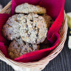 Oatmeal Raisin and White Chocolate Cookies