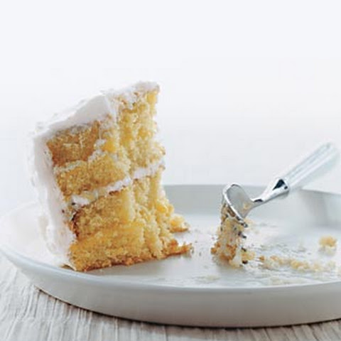 Gluten Free Layered Lemon Cake with Lemon Whipped Cream Frosting ...