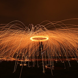 Steel Wool Photography by Storm Hayward - Abstract Light Painting ( light painting, steel wool, long exposure, sparks, fire )