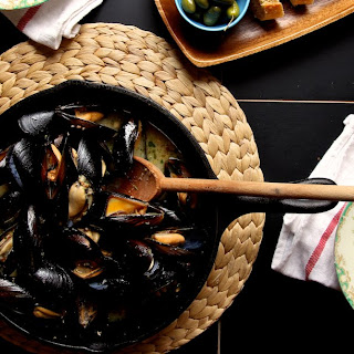 Fore Street Mussels from Portland, Maine