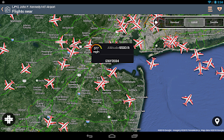 Screenshot of Airline Flight Status Tracker