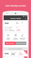 Screenshot of Zeek Gift Vouchers Marketplace