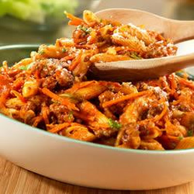 Penne Bolognese-Style