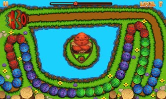 Screenshot of Marble Mania