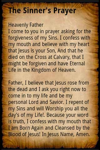 Sinner's Prayer