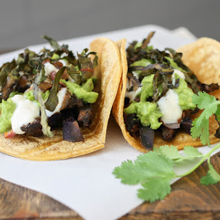 Portobello & Purple Potato Tacos