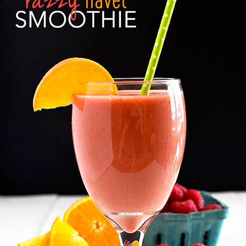 Razzy Navel Smoothie