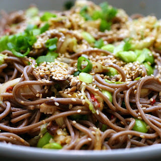 Spicy Soba Noodles With Shiitakes