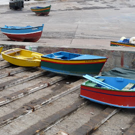 by Alyne De Rudder - Transportation Boats