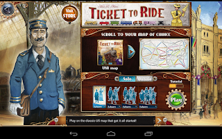 Screenshot of Ticket to Ride