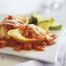 Cheese-Stuffed Shells in Marinara Sauce