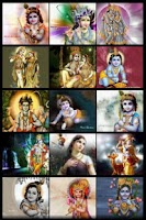 Screenshot of Lord Krishna Wallpapers