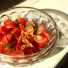 Tomato Salad With Lemon and Cilantro
