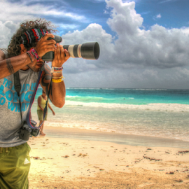 Working by Alex Jaime - People Professional People ( canon, mexico, camera, beach, tulum )