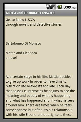 Mattia and Eleonora