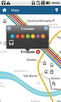 Screenshot of iMetroPorto