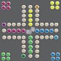 Ludo board game icon