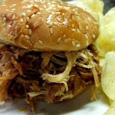 V's Easy Pulled Pork Sammy's (Crock-Pot)