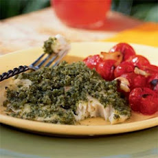 Pargo con Salsa de Perejil (Snapper in Parsley Sauce)