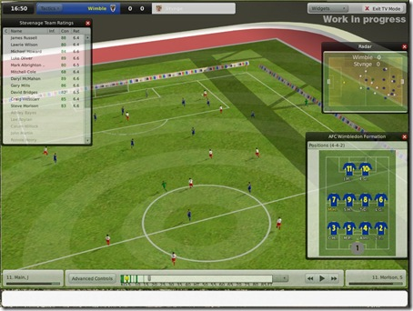 Football Manager 2009 3D Match Engine