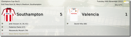 Great victory against Valencia in FM08