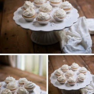 Coconut & Pineapple Cupcakes