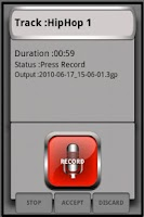 Screenshot of Track Factory Recorder