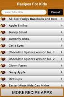 Screenshot of 100 Recipes For Kids