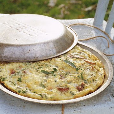 Panfried Potato and Fontina Frittata