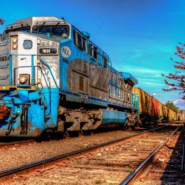 by Marcos Sanchez - Transportation Trains (  )
