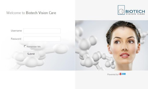 Biotech Vision Care - One CRM - screenshot