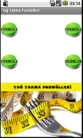 Screenshot of Yağ Yakma Formülleri
