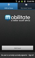 Screenshot of Mobilitate