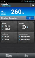Screenshot of Runtastic Altimeter PRO