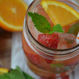 Strawberry Orange Iced Tea