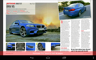 Screenshot of Autocar India Mag